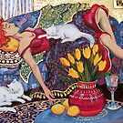 Woman Resting by Deborah Conroy
