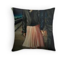 Palm to Palm Throw Pillow