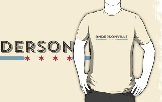 Andersonville Neighborhood Tee