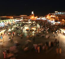 Djemaa el Fna by James Godber