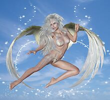 Elemental dreams, Angel in Flight by LoneAngel
