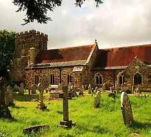 Hampreston Church by RedHillDigital