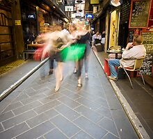 Degraves St by Daniel Sheehan