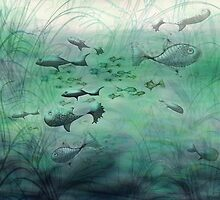 multi-fishes by pentangled
