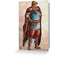 The Celtic Warrior Greeting Card