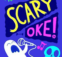 Gravity Falls Scary-Oke Poster by The-Sqoou