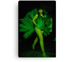 Sarah Lea Cheesecake is the Green Fairy! Canvas Print