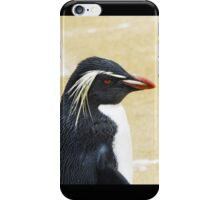 Rockhopper penguin  iPhone Case/Skin