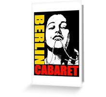 BERLIN-CABERET COLOUR Greeting Card