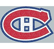 Habs (distressed) Photographic Print