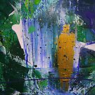 SPIRIT OF AN ANGEL - ABSTRACT by Dawn  Hough Sebaugh