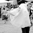 Bride and Groom having a bit of fun by Matt Sillence