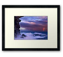 Storm's End Framed Print