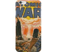 Atomic War iPhone Case/Skin