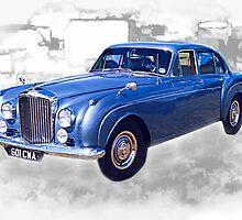 1956 Bentley Continental by Peter Sandilands