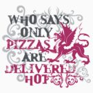who says only pizzas are delivered hot by anunayr