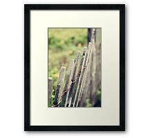Withstanding Framed Print
