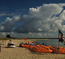 Studland,Dorset,England - Seaside Fun . by delros