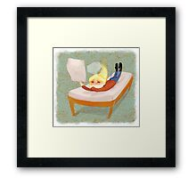 Squee! (Hers) Framed Print