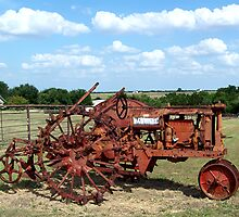 Old Farmall Tractor by Glenna Walker