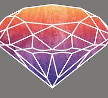 watercolour diamond  by Chauza