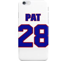 National Hockey player Pat Price jersey 28 iPhone Case/Skin