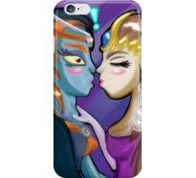 Midna/Zelda Legend of Zelda Fan Fiction iPhone Case/Skin