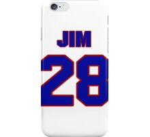 National Hockey player Jim Walsh jersey 28 iPhone Case/Skin