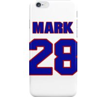 National Hockey player Mark Bell jersey 28 iPhone Case/Skin