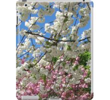 Blue Sky and Beautiful Blossoms iPad Case/Skin