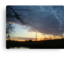 Sunset Extravaganza Canvas Print