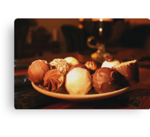 Chocolate Self Indulgence Canvas Print
