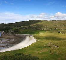 Peanmeanach Bothy on the Ardnish Peninsula. by John Cameron