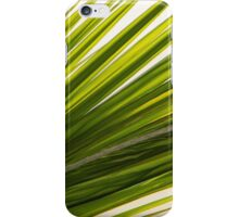Palm Leaf Abstract iPhone Case/Skin