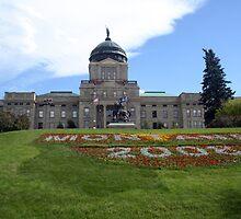 Montana State Capitol Helena by Patricia Shriver