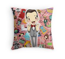 I KNOW YOU ARE, BUT WHAT AM I? Throw Pillow