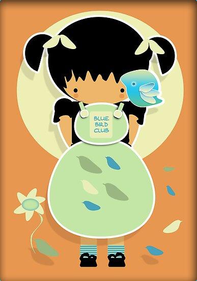 Blue Bird Club by migaloomagic