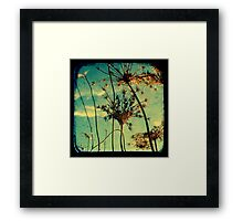 Head in the Clouds - TTV Framed Print