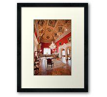 Palácio dos Condes Castro Guimarães. Framed Print