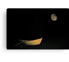 Tucked In For The Night Canvas Print