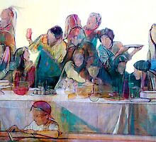 Last Supper by Philip Smeeton