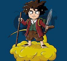 Goku Baggins by 2mzdesign