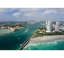Approaching Miami Photographic Print