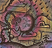 Psychedelic doodles  by Joe Futak