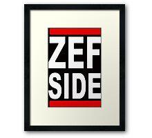 ZEF SIDE DIE ANTWOORD  Framed Print