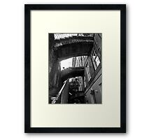 Stairing Close At You....... Framed Print