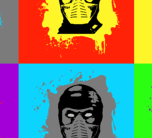 Warhol Kombat Sticker