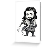 King Under the Mountain Greeting Card