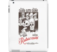 Rubacava (White) iPad Case/Skin