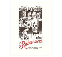 Rubacava (White) Art Print